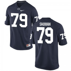 Charlie Shuman Penn State Player Jerseys For Men Navy Game