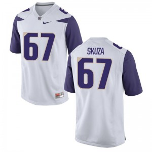 UW Men White Limited Chase Skuza Jerseys S-3XL