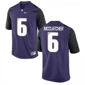 Game Purple Chico McClatcher Player Jersey Mens Washington Huskies