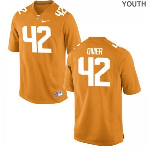 Tennessee Chip Omer Jerseys S-XL Youth(Kids) Limited Jerseys S-XL - Orange