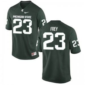 Chris Frey Michigan State Jersey Game For Men Green Jersey