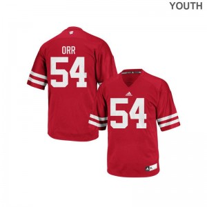 Chris Orr Wisconsin Badgers Football Jerseys Youth(Kids) Replica Jerseys - Red