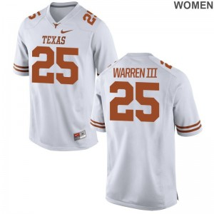 White Ladies Limited UT Player Jerseys Chris Warren III