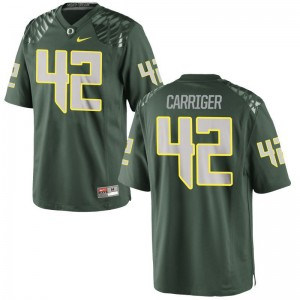 Cody Carriger Youth(Kids) Jerseys Ducks Limited - Green