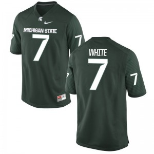 Cody White Spartans College Jersey Game For Men Jersey - Green