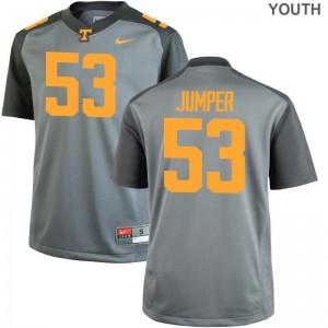 UT Colton Jumper Football Jerseys Limited Kids Jerseys - Gray
