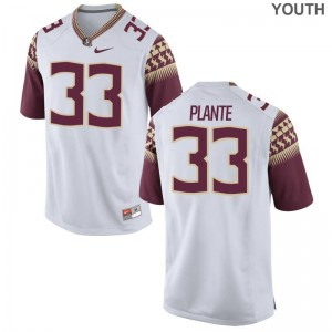 Seminoles Alumni Jersey Colton Plante White Youth(Kids) Limited