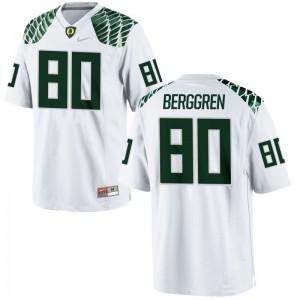 University of Oregon Connor Berggren Limited Kids Jersey - White