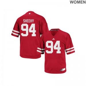 Conor Sheehy Ladies Red Jerseys S-2XL UW Replica