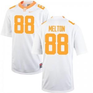 Limited Cooper Melton Jerseys S-3XL Vols Men - White