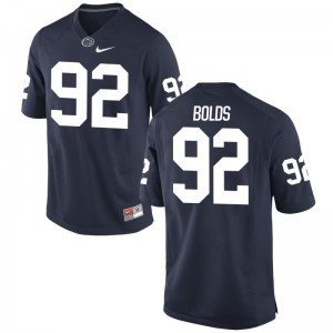 Game Corey Bolds Player Jersey For Men Nittany Lions - Navy