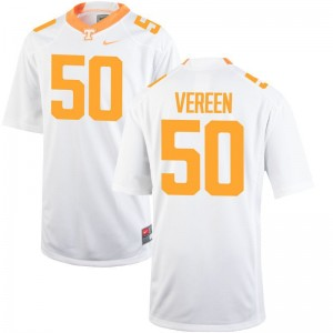 Tennessee Vols Corey Vereen Jersey High School Youth Game White Jersey