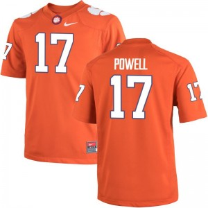 Clemson Tigers Cornell Powell Alumni Jersey Orange Game Men