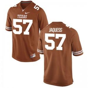 Cort Jaquess Longhorns Jerseys Mens Game - Orange