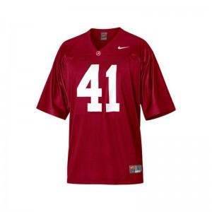 Alabama Courtney Upshaw High School Jerseys Game Ladies Red
