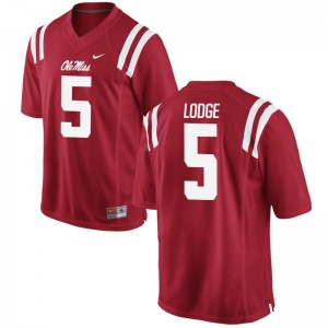 University of Mississippi DaMarkus Lodge NCAA Jerseys For Men Game Jerseys - Red