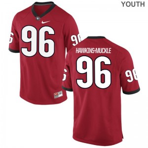 University of Georgia DaQuan Hawkins-Muckle Jersey Limited Youth(Kids) - Red