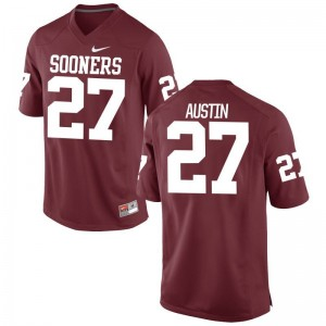 Men Limited Crimson Oklahoma Jersey Dakota Austin