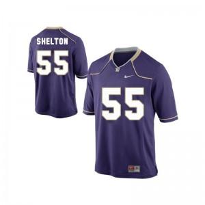 Purple Mens Limited UW Huskies Jersey of Danny Shelton