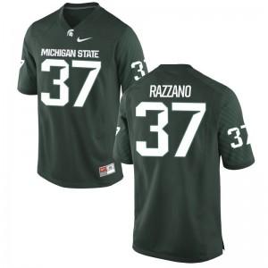 Spartans Dante Razzano Jersey Alumni Mens Game Green Jersey