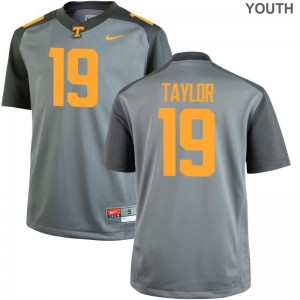 Tennessee Volunteers Jersey Darrell Taylor Youth Game Gray