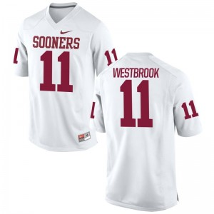 OU Sooners Dede Westbrook Jersey Game White For Men