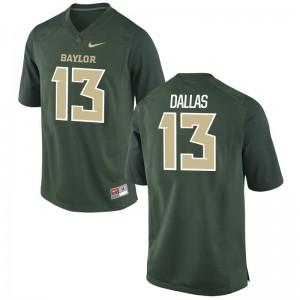 Hurricanes High School DeeJay Dallas Game Jerseys Green Men