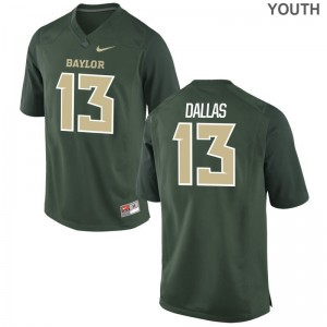 Miami Hurricanes DeeJay Dallas Jerseys S-XL Youth Limited - Green