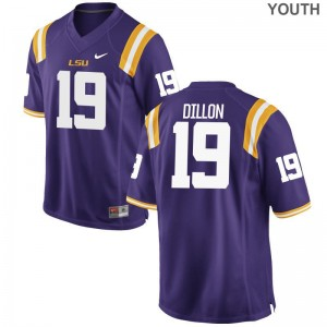 Purple Limited For Kids LSU Alumni Jersey Derrick Dillon