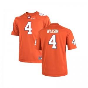 Deshaun Watson For Men Jersey Clemson National Championship Orange Limited