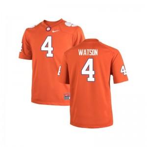 Clemson National Championship Jersey Deshaun Watson Game Orange Kids
