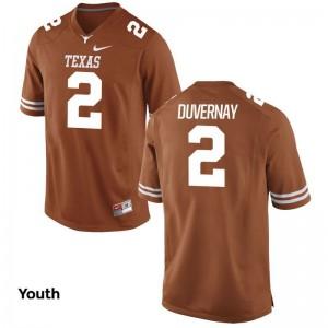 UT Devin Duvernay For Kids Game Jerseys Orange