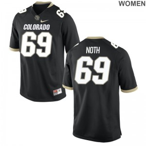 Devin Noth Womens University of Colorado Jerseys Black Limited Jerseys