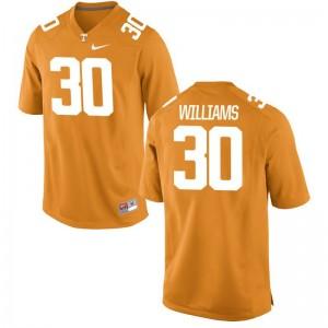 Game Orange Devin Williams Jerseys Ladies Tennessee Vols