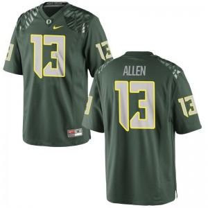 Oregon Ducks Devon Allen Limited For Kids Green Alumni Jerseys