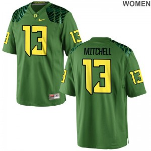 Ducks Dillon Mitchell Jersey S-2XL Ladies Apple Green Limited