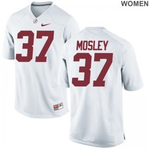 Game Alabama Donavan Mosley Women White NCAA Jersey