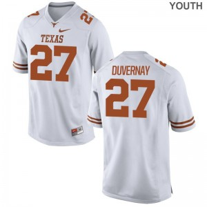 UT Donovan Duvernay Limited Youth(Kids) NCAA Jerseys - White
