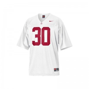 Alabama Dont'a Hightower Game Youth(Kids) Jerseys - White