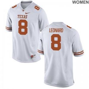 UT Dorian Leonard Jerseys S-2XL Limited Women White