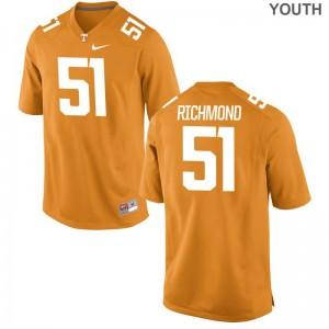 Drew Richmond For Kids College Jerseys UT Game - Orange