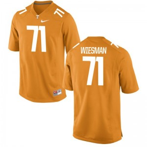 Tennessee Vols Dylan Wiesman Game Kids Orange Jerseys