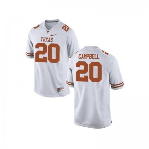 UT Earl Campbell Limited For Women Player Jersey - White