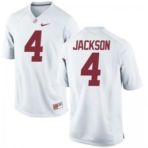 Eddie Jackson Youth(Kids) White Jersey S-XL Alabama Game
