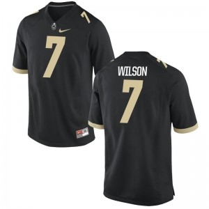 Eddy Wilson Purdue High School Jerseys Black Game Men