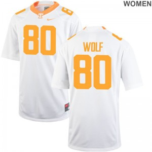Tennessee Limited White Womens Eli Wolf High School Jersey