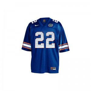 Emmitt Smith Youth(Kids) Blue College Jersey Limited Florida Gators