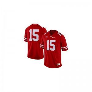 Game Red Men OSU Jersey of Ezekiel Elliott