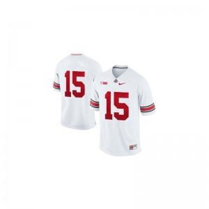 Ohio State NCAA Ezekiel Elliott Limited Jerseys White For Men