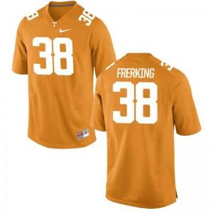 Tennessee Grant Frerking Jerseys S-3XL Game For Men Orange